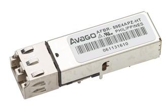 Трансивер Broadcom (Avago) AFBR-59E4APZ-HT, промышленный температурный диапазон от -40 до 95 °С